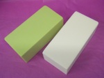 Coloured Oasis – Ivory & Lime Green, Individual Bricks. £3.20