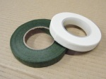Flower Tape – Green or White. Sold singly. £0.90