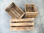 Wooden Crates set of 3 £36.75